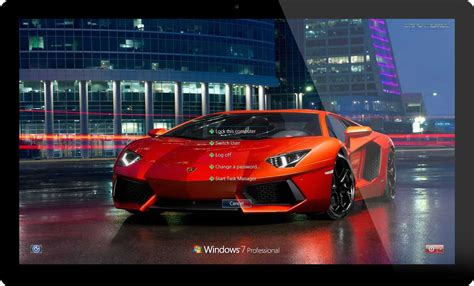 Car Wallpaper Windows 7 by Lamborghini Cars Windows 8 Theme