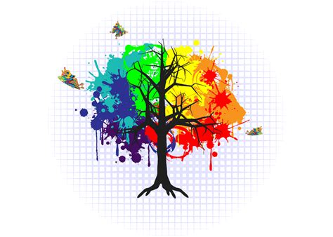 colorful tree colorful tree web designs by dave hinkin