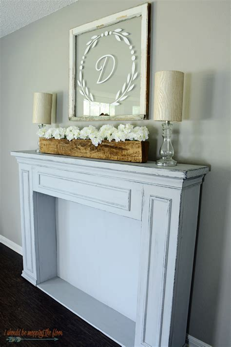 mantle decor i should be mopping the floor simple summer mantel decor