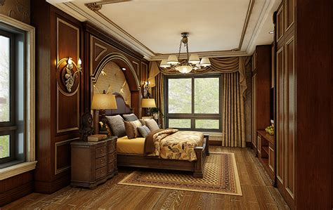 decorations for home interior american style villa bedroom decoration
