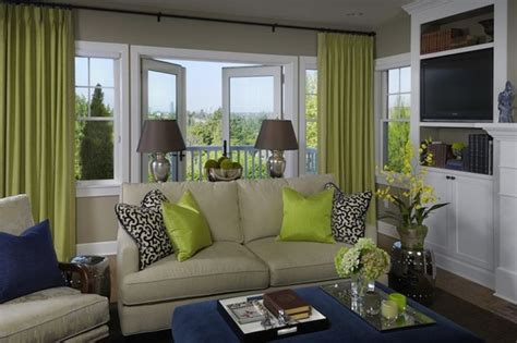 green walls grey curtains green blue living room design with gray walls paint
