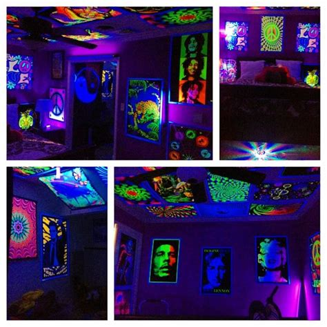 black light bedroom 17 best images about blacklights in the home on