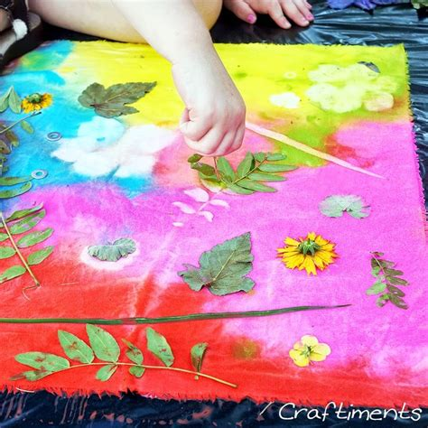 acrylic paint as fabric paint acrylic paint sun prints on fabric to make for