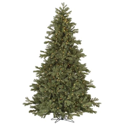 pre lighted trees 7 5 frasier fir pre lighted tree dura lit lights