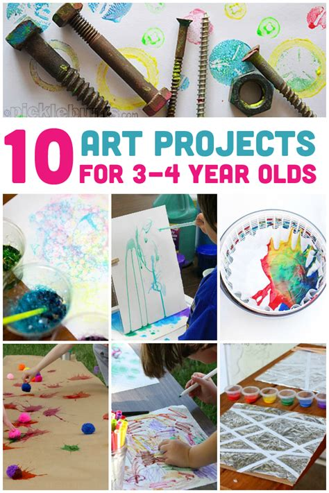 10 Awesome Projects For 3 4 Year Olds Activities