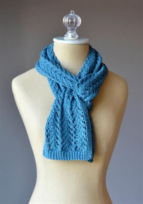 knit lace scarf lace scarf by universal yarn craftsy