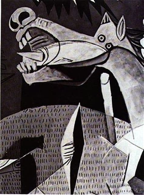 picasso paintings of horses guernica