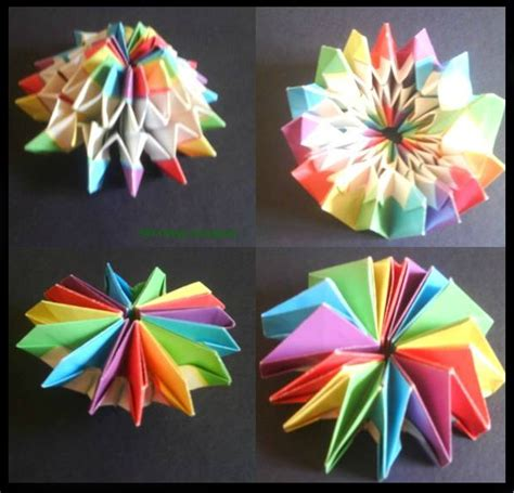 how to make origami fireworks firework origami