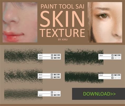 paint tool sai texture pack 13 best images about brushes on paint brushes