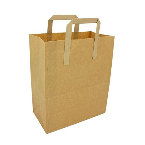 Brown Kraft Paper Carrier Bags Large Your One Stop