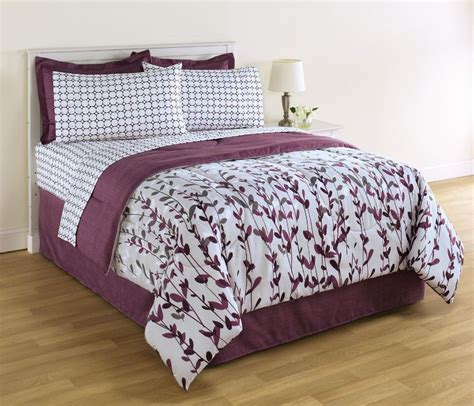 comforter and sheet sets king size white and purple comforter and sheet set floral