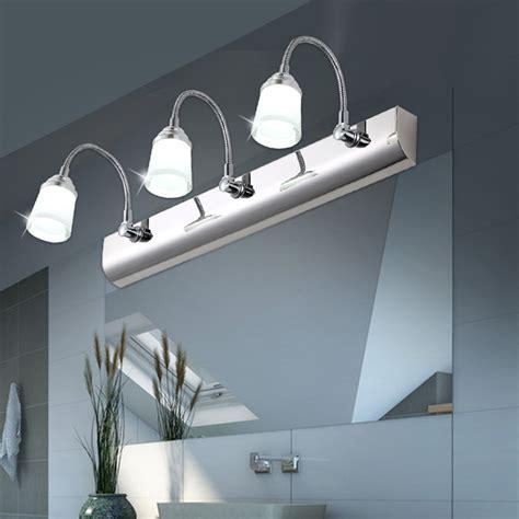 waterproof bathroom lights mirror light led modern brief acrylic mirror cabinet l