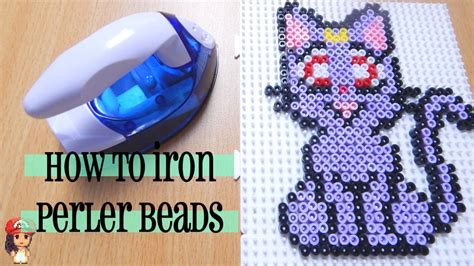 how to iron perler how to iron perler perfectly tutorial