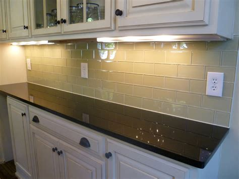 glass tile kitchen backsplash glass subway tile kitchen backsplash contemporary