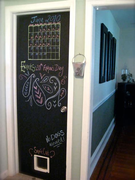painting chalkboard door deluxe idea for chalkboard paint on door decosee