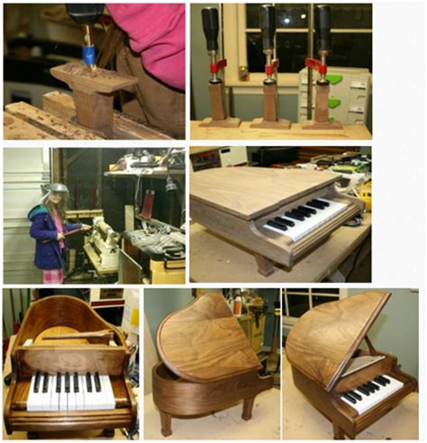 woodworking show indianapolis tween woodworker creates baby grand miniature piano
