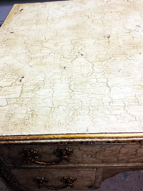 chalk paint cracking ghosts of furniture past writing desk with sloan