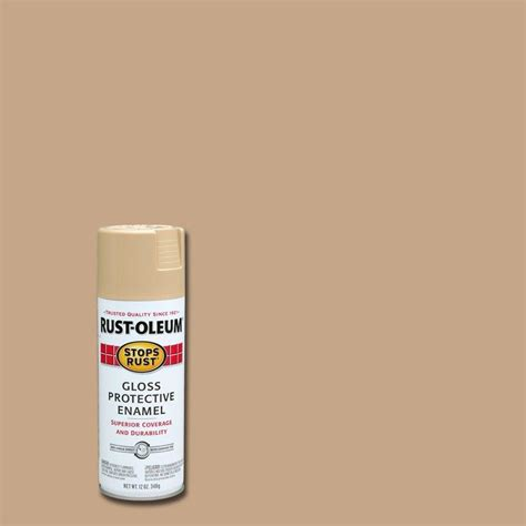 home depot rustoleum spray paint colors rust oleum stops rust 12 oz protective enamel gloss sand