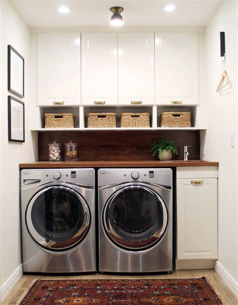 Before and After: A Bathroom Turned Laundry Room Chris