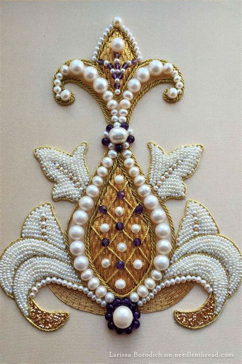 embroidery beading patterns 1000 ideas about bead embroidery patterns on