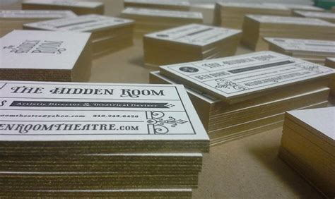 how to make letterpress cards letterpress business cards for the room five and