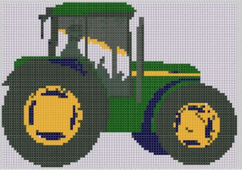 free tractor knitting pattern smashwords tractor cross stitch pattern a book by