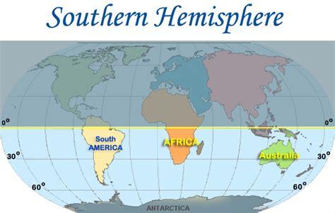 southern hemisphere southern hemisphere map my