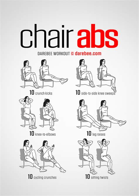 office workouts at desk chair abs workout