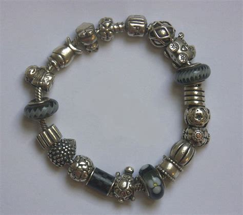 pandora bracelet stopper pandora bracelet with 17 charms and 2 stopper