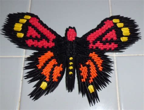 3d origami swan boat 3d origami monarch butterfly by dfoosdc on deviantart