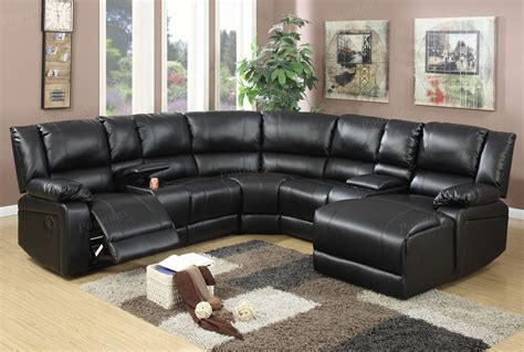 sectional sofa with recliners black sectional sofa with recliners joshua black leather