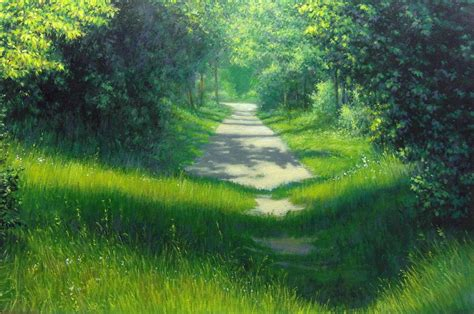 acrylic painting landscape maxim grunin drawing painting landscape paintings 2010