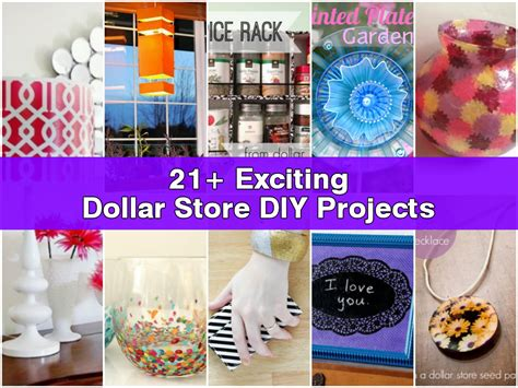 money craft projects 21 exciting dollar store diy projects