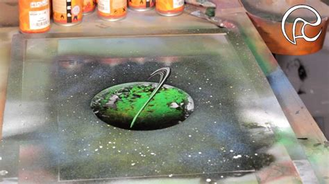 spray paint tutorial planet rings tutorial 4 trailer spray paint by ren 233