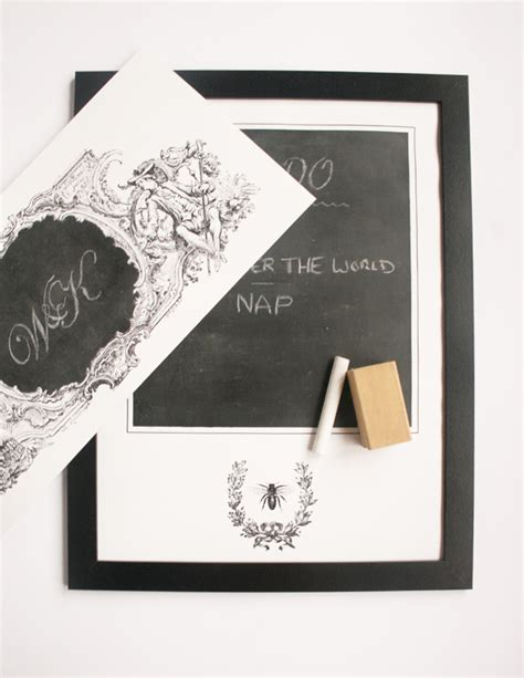 diy chalkboard print print and paint diy chalkboard paint posters home tree