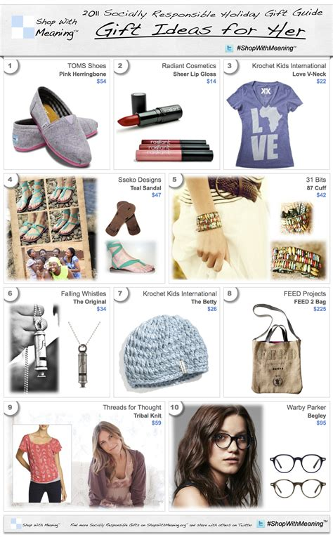womans gifts s gift ideas socially responsible