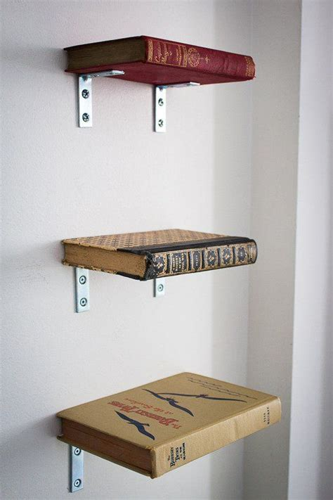 pictures of books on shelves book shelf made from books and brackets home office