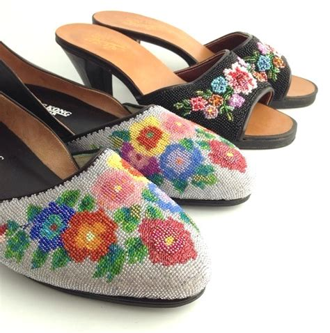beaded shoes 100 years of south east asian nonya embroidery the