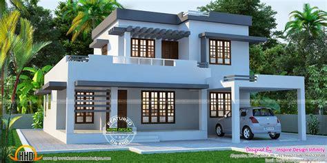 flat home design beautiful flat house exterior kerala home design and
