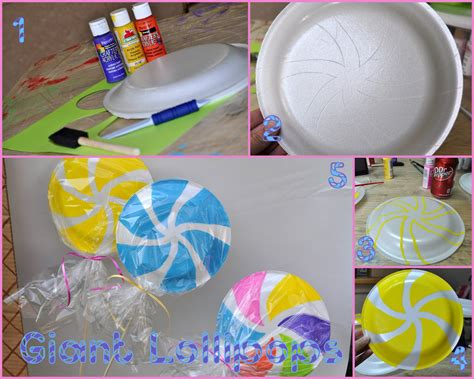 candyland decorations ideas land vanellope sugar rainbow on