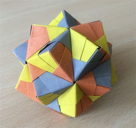 origami paper weight modular origami polypompholyx