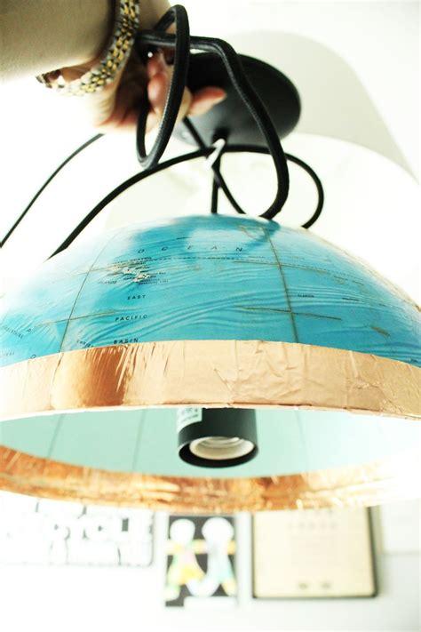 spray painter career diy globe pendant light a and easy lighting upgrade