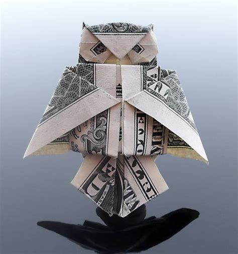 dollar owl origami 35 beautiful dollar origami by craig sonnenfeld