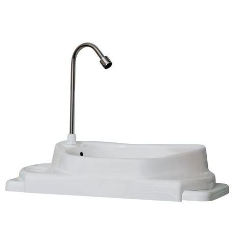 Faucet Water Saver by Sinkpositive Touch Free Water Space Saving Adjustable