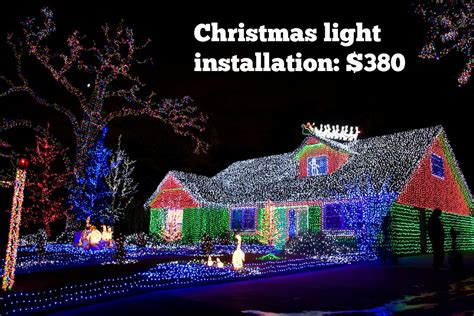 cost to lights installed best 28 how much is light installation