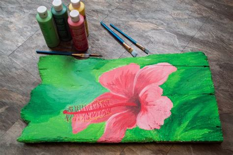 acrylic paint uses how to use acrylic paint on wood with pictures ehow
