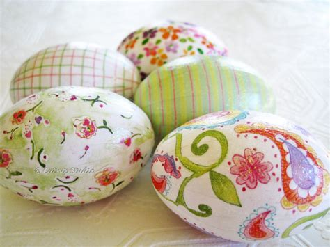 decoupage eggs pink and green easter eggs decoupage glitter floral paisley