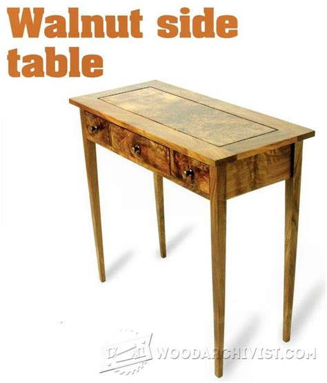 woodworking plans side table book of side table woodworking plans in canada by emily