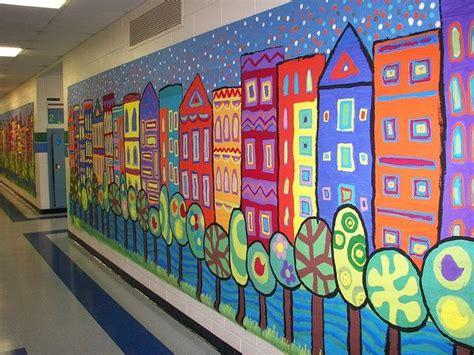 wall murals for schools school mural classroom ideas