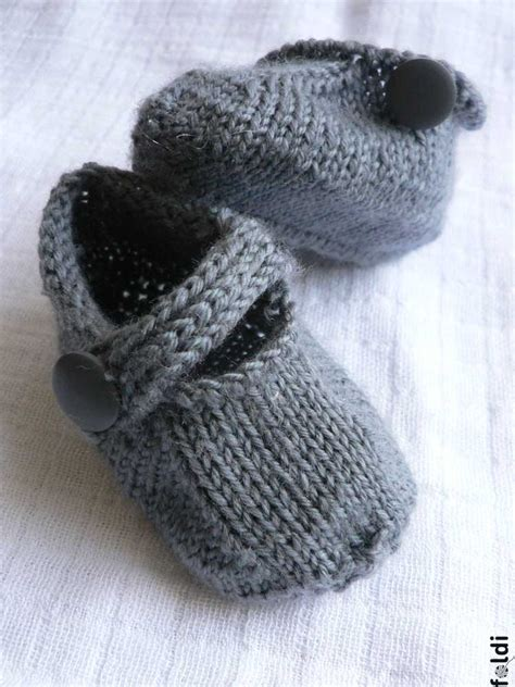 knit baby booties foldi seamless baby bootie